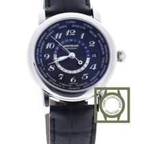Montblanc Star World-Time GMT Black Dial