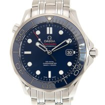 歐米茄 (Omega) Seamaster Stainless Steel Blue Automatic 212.30.41...