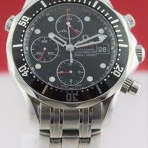 Omega Seamaster 213.30.42.40.01.001 Large Black Chronograph...