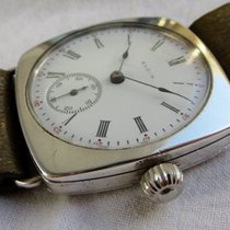 Elgin 935 Sterling Silver Trench Watch ca 1917