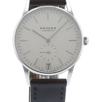 Nomos Orion Datum 1413 Watch with Leather Bracelet and...