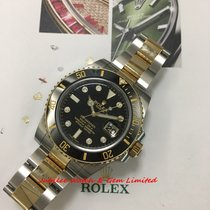 勞力士 116613 8DI Submariner Date Gold & Steel 40mm  watch only