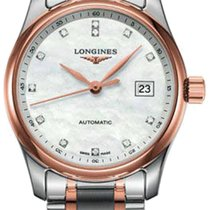 Longines Master Collection Gold/Steel 29mm Mother of pearl