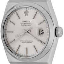 Rolex Datejust Oysterquartz pre-owned 35mm Steel