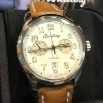 Breitling AB141112/G799 Steel Transocean Chronograph 1915 43mm new