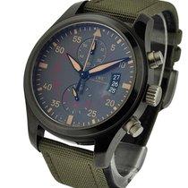 IWC IW388002 Pilots Chronograph Top Gun Miramar in Black...