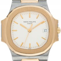 Patek Philippe Nautilus Stahl 18kt Gelbgold Automatik Armband...