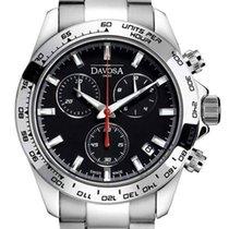 Davosa Speedline Chronograph Steel 42mm Black