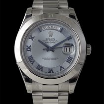 Rolex Day-Date II pre-owned 41mm Platinum