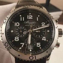 Breguet Chronograph 42mm Automatic pre-owned Type XX - XXI - XXII Brown