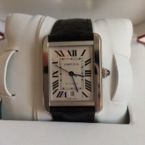 Cartier WSTA0028 Steel Tank Solo 41mm