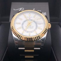 Rolex Sky-Dweller 326933-0009 New Gold/Steel 42mm Automatic