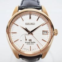 Seiko Rose gold Automatic 39mm pre-owned Grand Seiko