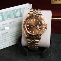 Rolex 40mm Automatic pre-owned GMT-Master II Brown