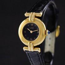 Cartier Trinity Plata 24mm Negro Romanos