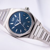 Girard Perregaux Laureato Steel 42mm Blue No numerals United States of America, New Jersey, Princeton