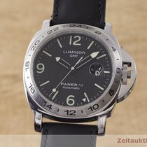 Panerai Luminor GMT Automatic Stal 44mm Czarny