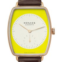 NOMOS Lux Rose gold 34mm Yellow