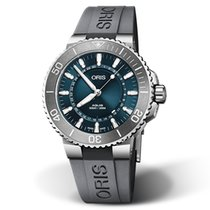 Oris Steel 43.5mm Automatic 01 733 7730 4125-SET RS new