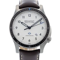 Bremont Steel 43mm Automatic BB1-SS-WH pre-owned