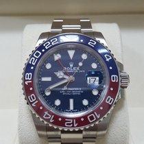 롤렉스 GMT-마스터 II 화이트골드 40mm 파란색 숫자없음 대한민국