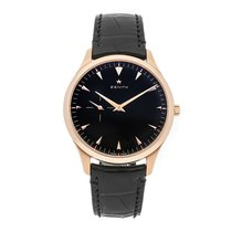 Zenith Elite Ultra Thin Rose gold 40mm Black No numerals United States of America, Pennsylvania, Bala Cynwyd