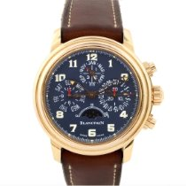 Blancpain Léman Fly-Back Rose gold 38mm Blue Arabic numerals United States of America, New York, New York