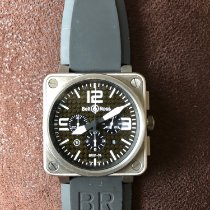 Bell & Ross Titanium Automatic Black 46mm pre-owned BR 01-94 Chronographe
