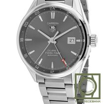TAG Heuer Carrera Calibre 7 Staal 41mm Grijs