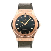 Hublot Classic Fusion 45, 42, 38, 33 mm Rose gold 45mm Green No numerals United States of America, Pennsylvania, Bala Cynwyd