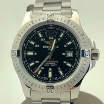 Breitling Colt Automatic Steel 44mm Black No numerals