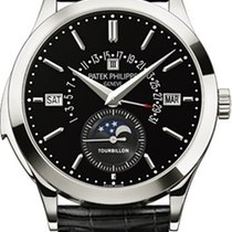 Patek Philippe Minute Repeater Perpetual Calendar Platinum 39.5mm Black