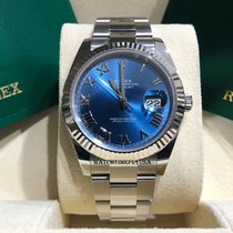Rolex Datejust Gold/Steel 41mm Blue Roman numerals United States of America, New York, NEW YORK