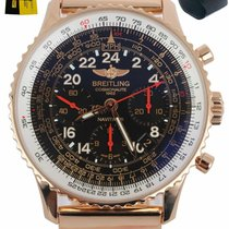 Breitling Navitimer Cosmonaute Rose gold 40mm Black United States of America, New York, Smithtown