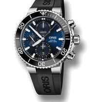 Oris Aquis Chronograph 01 774 7743 4155-07 4 24 64EB new