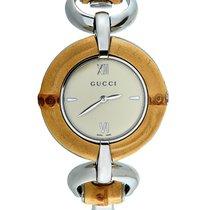 Gucci Acero 35mm Cuarzo YA132404 nuevo