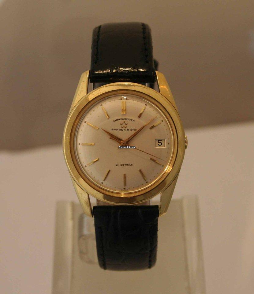 ceec2dbd30b Comprar relógios Eterna Ouro amarelo