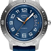 Hermès Clipper Titanium 41mm Blue United States of America, New York, Airmont