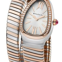 Bulgari new Quartz 35mm Gold/Steel