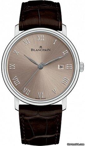 Blancpain Villeret Ultraflach 6651-1504-55 2021 neu