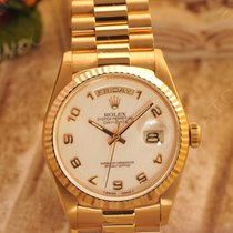 勞力士 (Rolex) 18038    ROLEX Day-date 米白電腦阿拉伯字面