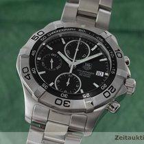TAG Heuer Aquaracer Chronograph Stahl Automatik Ref Caf2110