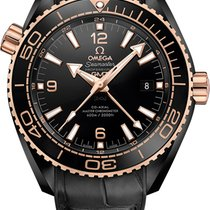 Omega Seamaster Planet Ocean 600 M Deep Black Co-Axial Master GMT