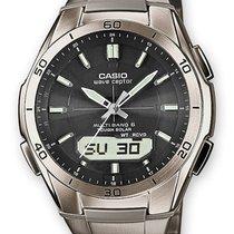 Casio WVA-M640TD-1AER Herren Funkuhr Solar 5 ATM 43 mm