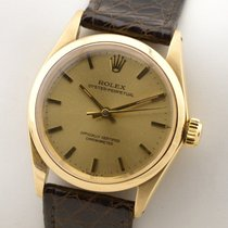Rolex Datejust Medium Midsize 18K Gold Gelbgold Automatic...