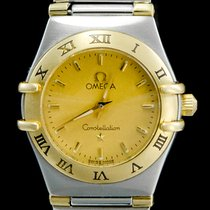 Omega Constellation Ladies Or/Acier 24mm Or Sans chiffres