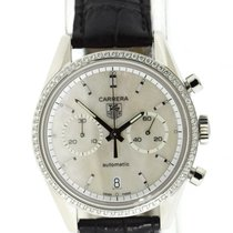 TAG Heuer Carrera Calibre 17 Steel 39mm Mother of pearl United States of America, New York, New York