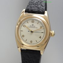 Rolex Bubbleback 3131, Gold 14k/585 Automatik