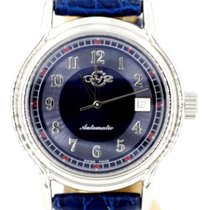 Gevril 40mm Automatic Blue