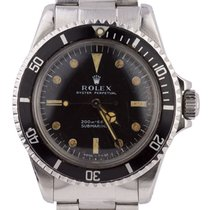 Rolex Vintage GILT CASE 1964 Rolex Submariner No Date 5513...